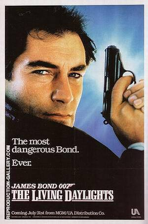 The Living Daylights By James-Bond-007-Posters
