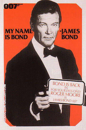 For Your Eyes Only By James-Bond-007-Posters