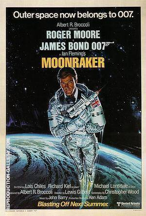 Moonraker IIII Painting By James-Bond-007-Posters - Reproduction Gallery