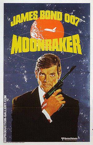 Moonraker III By James-Bond-007-Posters