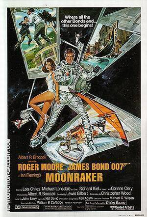 Moonraker By James-Bond-007-Posters Replica Paintings on Canvas - Reproduction Gallery