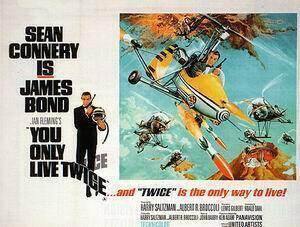 You Only Live Twice By James-Bond-007-Posters