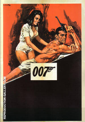 Thunderball III By James-Bond-007-Posters - Oil Paintings & Art Reproductions - Reproduction Gallery
