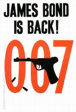 James Bond Is Back By James-Bond-007-Posters