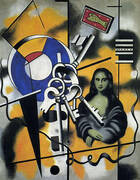 Mona Lisa with Keys 1930 By Fernand Leger