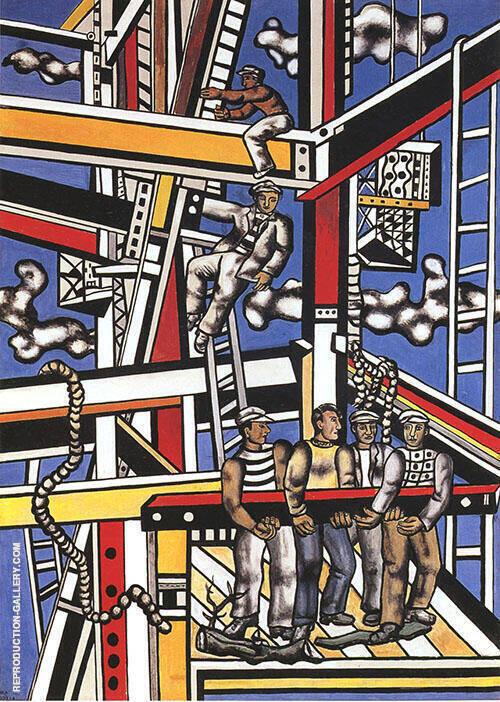 The Constructors 1950 By Fernand Leger
