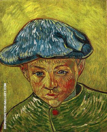 Portrait of Camille Roulin 1888 By Vincent van Gogh