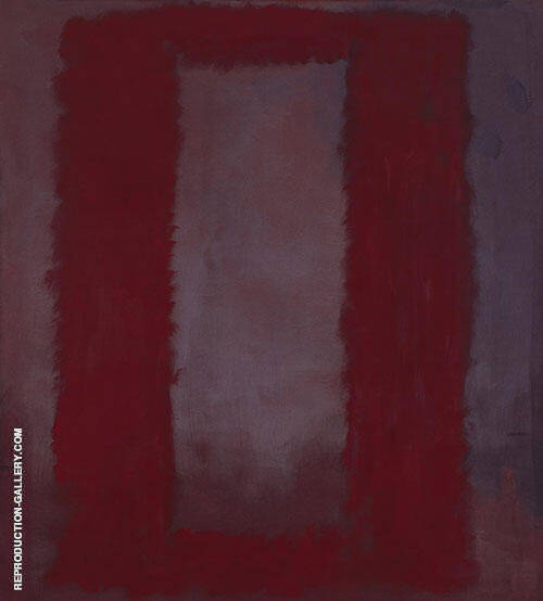 Red on Maroon 1959 1 By Mark Rothko