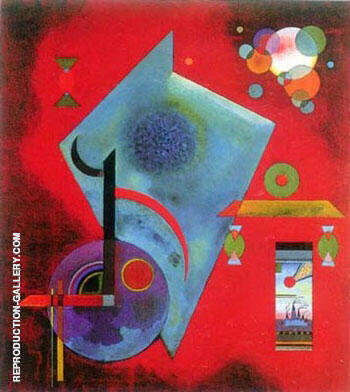 Locker Fest By Wassily Kandinsky Replica Paintings on Canvas - Reproduction Gallery