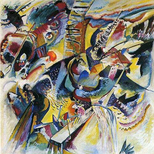 Gorge Improvisation 1914 By Wassily Kandinsky Replica Paintings on Canvas - Reproduction Gallery