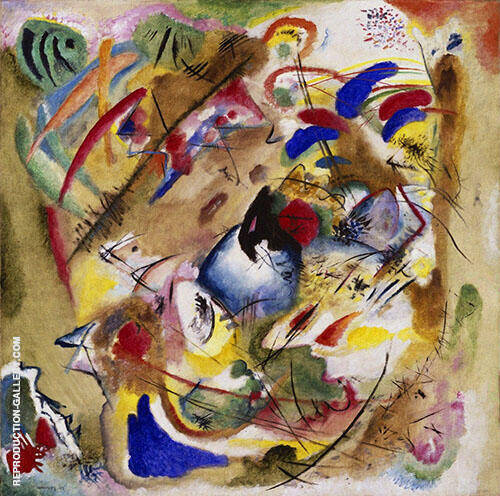 Reproduction of Fantastic Improvisation by Wassily Kandinsky | Oil Painting Replica On CanvasReproduction Gallery