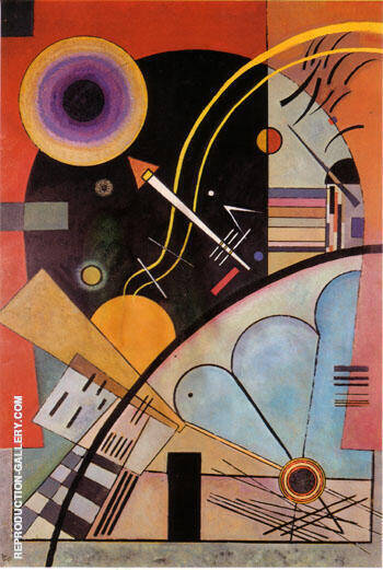 Still Tension 1924 By Wassily Kandinsky - Oil Paintings & Art Reproductions - Reproduction Gallery