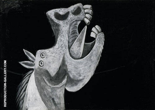 Head of a Horse By Pablo Picasso
