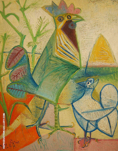 Cock of the Liberation 1944 By Pablo Picasso
