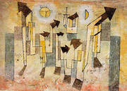 Mural from The Temple of Longing 1922 By Paul Klee