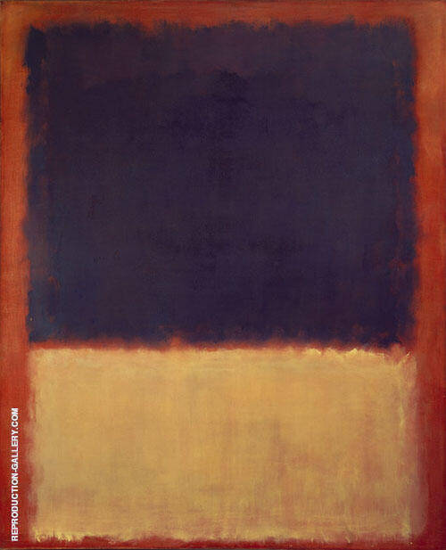 No 203 1954 By Mark Rothko Replica Paintings on Canvas - Reproduction Gallery
