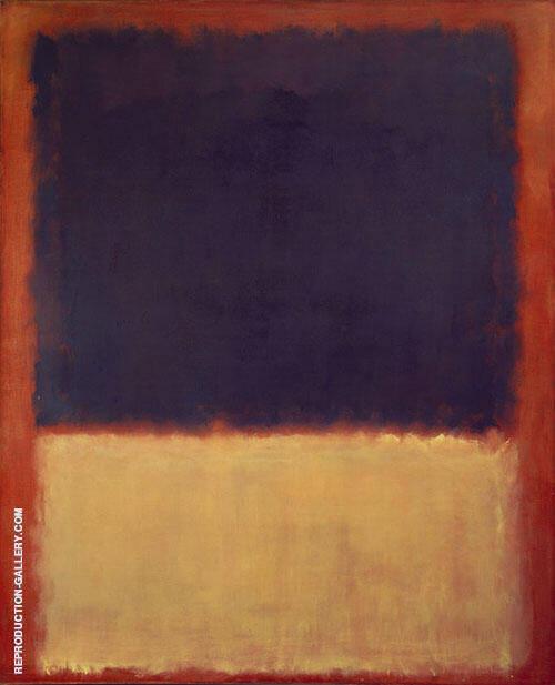 No 203 1954 By Mark Rothko