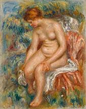 Bather Drying Her Legs 1895 By Pierre Auguste Renoir