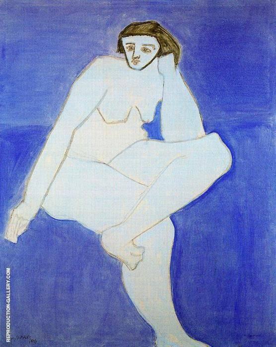 White Nude By Milton Avery