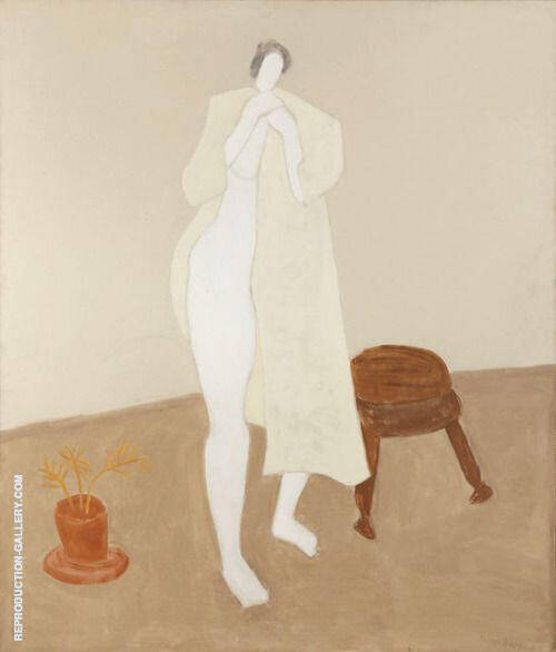Robed Nude By Milton Avery
