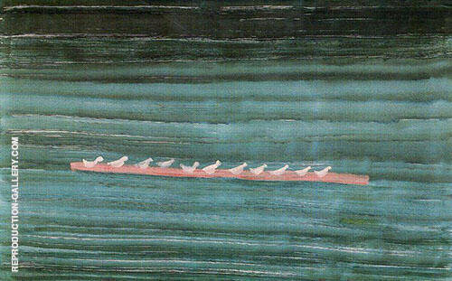 Seabirds on a Sandbar Painting By Milton Avery - Reproduction Gallery