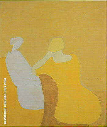 Interlude By Milton Avery - Oil Paintings & Art Reproductions - Reproduction Gallery