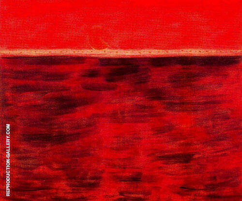 Tangerine Moon and Wine Dark Sea By Milton Avery