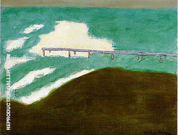 Stormy Day By Milton Avery - Oil Paintings & Art Reproductions - Reproduction Gallery
