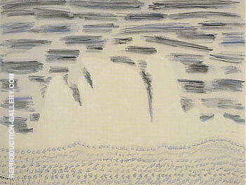Onrushing Wave By Milton Avery