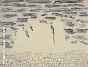 Onrushing Wave By Milton Avery