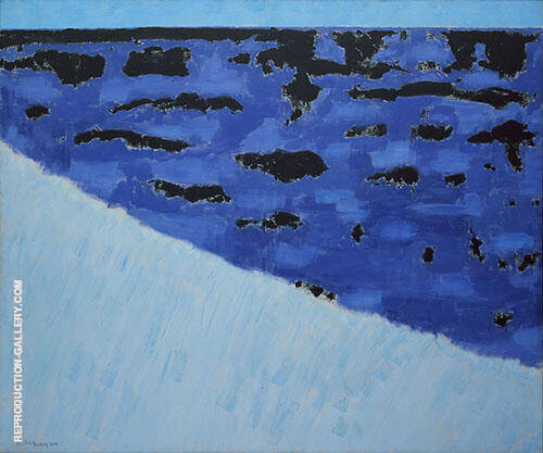 Sea Grasses and Blue Sea By Milton Avery