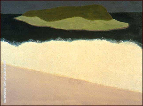 Offshore Island By Milton Avery