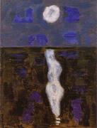 White Moon By Milton Avery