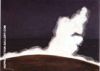 The White Wave Painting By Milton Avery - Reproduction Gallery