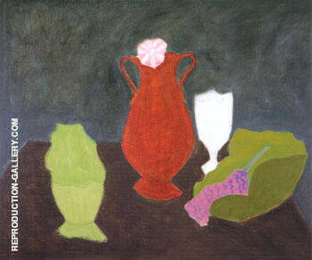 Dark Still Life By Milton Avery - Oil Paintings & Art Reproductions - Reproduction Gallery