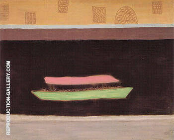 Excursion on the Thames By Milton Avery - Oil Paintings & Art Reproductions - Reproduction Gallery
