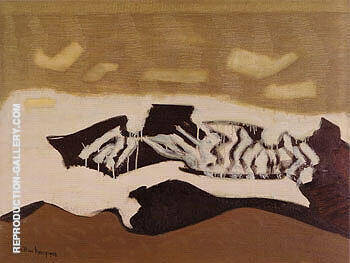 Breaking Sea By Milton Avery