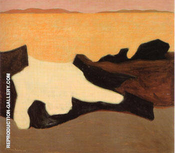 Sunset By Milton Avery - Oil Paintings & Art Reproductions - Reproduction Gallery