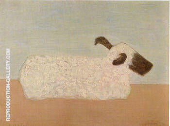 Sheep By Milton Avery - Oil Paintings & Art Reproductions - Reproduction Gallery