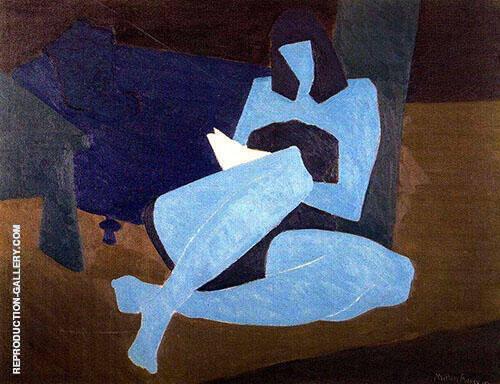 Summer Reader By Milton Avery