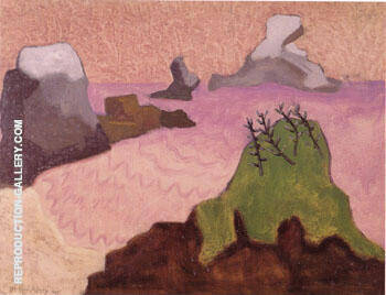 Oregon Coast By Milton Avery - Oil Paintings & Art Reproductions - Reproduction Gallery