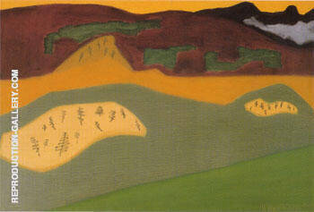 Bow River By Milton Avery Replica Paintings on Canvas - Reproduction Gallery