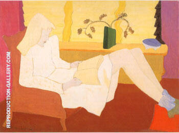 Adolescence Painting By Milton Avery - Reproduction Gallery