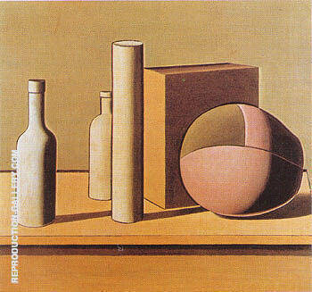 Still Life 1919 Painting By Georgio Morandi - Reproduction Gallery
