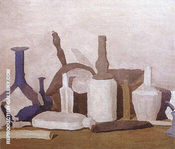 Still Life 1938 By Giorgio Morandi