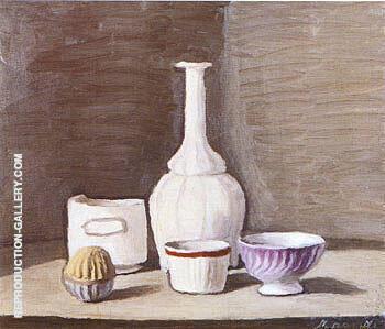 Still Life 1946 By Georgio Morandi