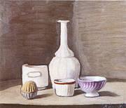 Still Life 1946 By Giorgio Morandi