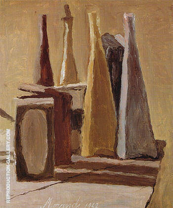 Still Life 1942 Painting By Georgio Morandi - Reproduction Gallery