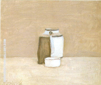 Still Life 1963 By Georgio Morandi