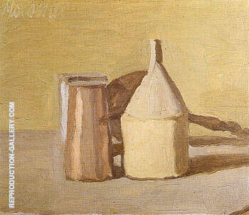 Still Life 1948 2 By Georgio Morandi - Oil Paintings & Art Reproductions - Reproduction Gallery